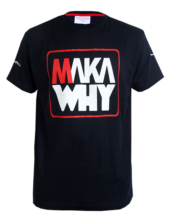 MAKA WHY | BLUE T-Shirt